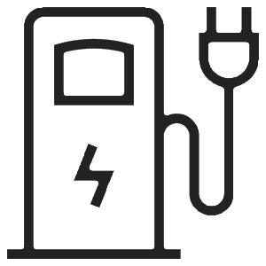Borne recharge voiture électrique chalet samoëns